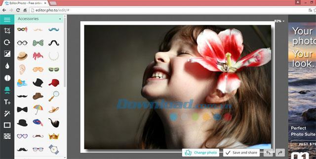 Editor.Pho.to-写真をオンラインで編集するためのアプリケーション