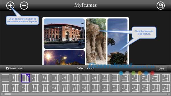 MyFrames - Ajoutez des cadres décoratifs aux images en ligne