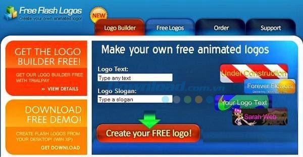 Kostenlose Flash-Logos - Einfaches Flash-Logo-Design