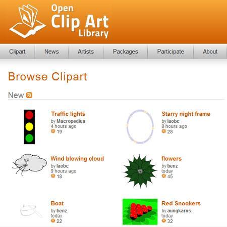 Openclipart.org - Trouvez des images clipart rapidement et avec précision