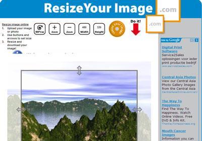 画像のサイズを変更する-写真のサイズを変更し、オンラインで切り抜く