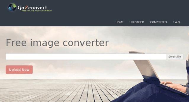 Go2convert - Kostenloser Bildkonverter Web