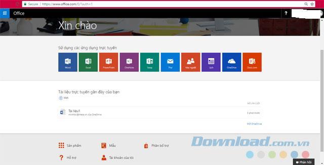 Office Online - Suite bureautique en ligne