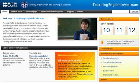 ベトナムで英語を教える