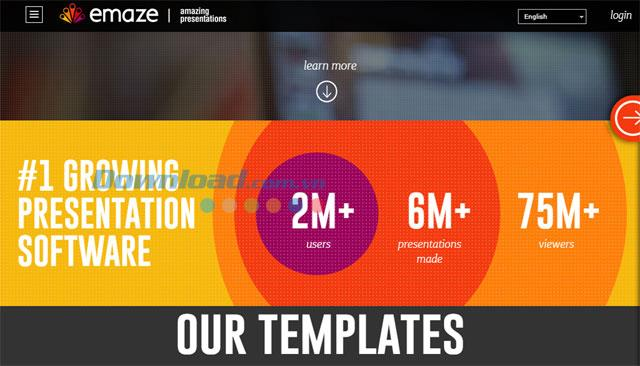 Emaze.com - Leistungsstarkes Präsentationsdesign-Tool