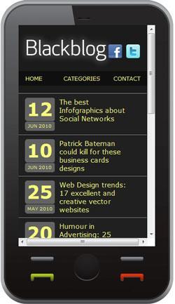 Onbile - Erstellen Sie eine mobile Version für das Web