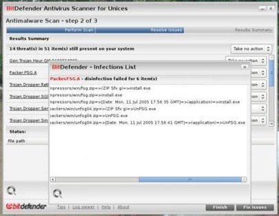 BitDefender Linux Edition 7.6 - Analyser et supprimer les virus sous Linux