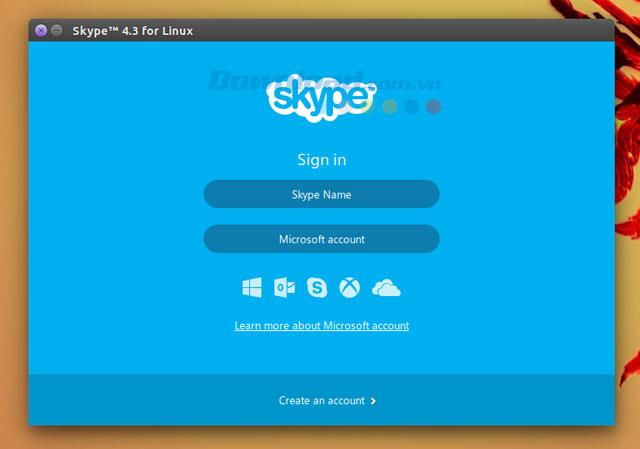 Skype for Linux 4.3.0.37-Linux向けの無料のテキストメッセージ、音声通話、ビデオ通話