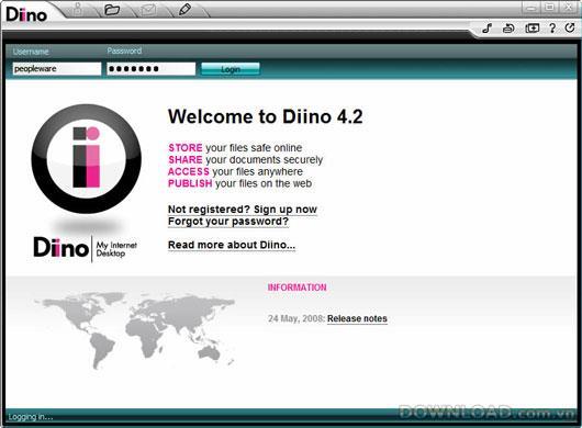 Diino für Linux (64 Bit)