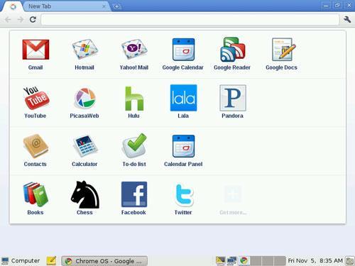 Chrome OS Linux 2.4.1290 - Browserbasiertes Betriebssystem für Linux