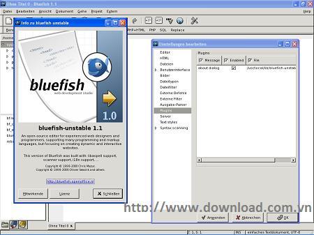 Linux用Bluefish