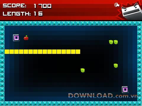 Angry Worm für BlackBerry - Spiel Angry Worm für BlackBerry
