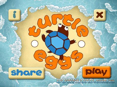 Turtle Eggs für BlackBerry - Unterhaltsames Spiel für BlackBerry