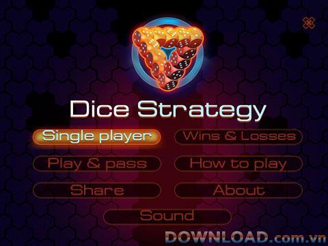 Würfelstrategie für BlackBerry - Intellektuelles Spiel für BlackBerry