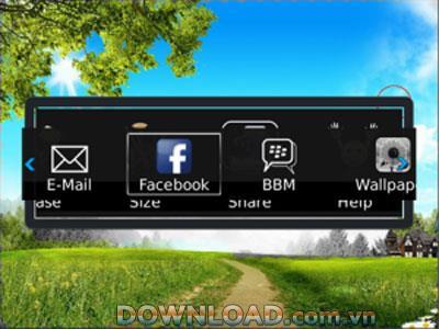 Color Splasher für BlackBerry - Anwendungsfarbbearbeitung für BlackBerry