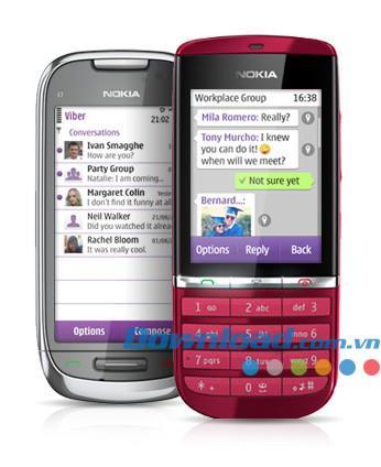 Viber für Nokia - Kostenlose Anrufe und SMS für Nokia