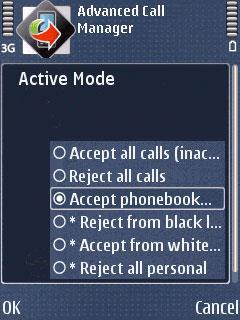 Advanced Call Manager Kostenlos für Symbian