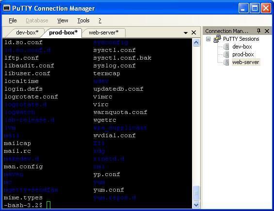 PuTTY 0.74 - Logiciel de connexion et de gestion de serveur distant