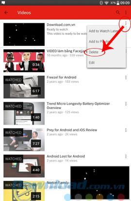 So posten Sie Videos auf Youtube mit Android