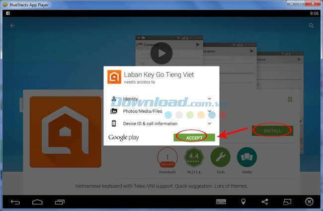 Wie tippe ich Vietnamesisch auf BlueStacks?