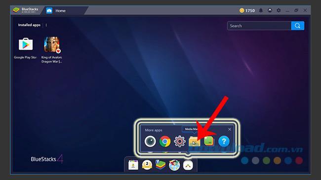 So bringen Sie Fotos und Daten von Ihrem Computer zu BlueStacks