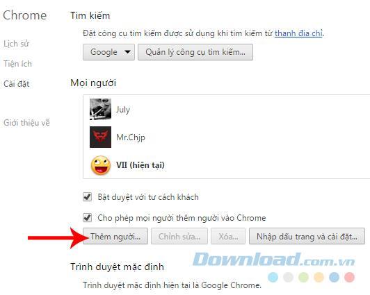 GoogleChromeで複数のアカウントにサインインする方法