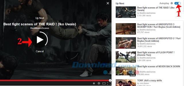 YouTubeで次の動画の自動再生をオフにする方法