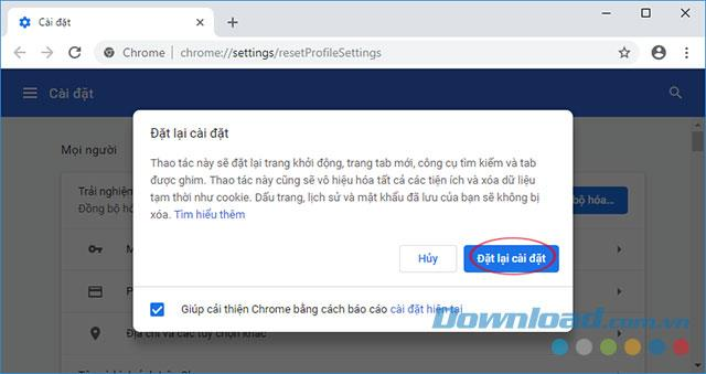 So setzen Sie Chrome auf die Werkseinstellungen zurück, setzen Sie Chrome auf die Standardeinstellungen zurück