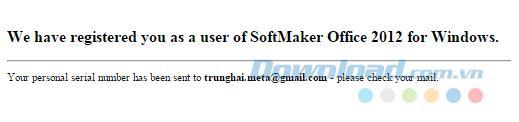 [無料] Copyright SoftMaker Office 2012