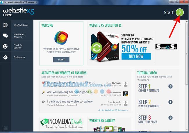 [Kostenlos] Design Software Copyright WebSite X5 Home 11