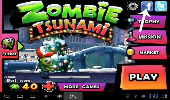 Wie man im Spiel Zombie Tsunami Highscores erzielt