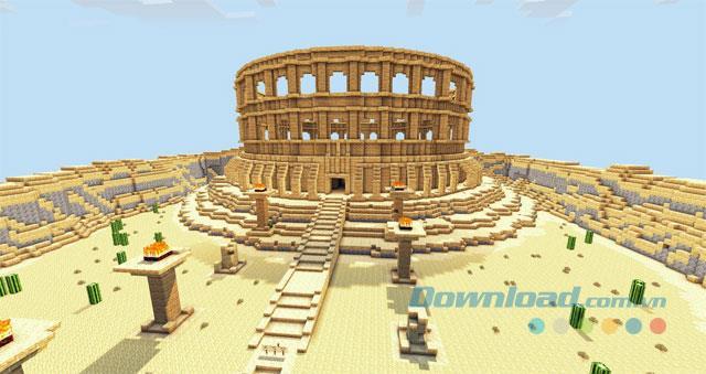 Tổng hợp map hay nhất trong Minecraft