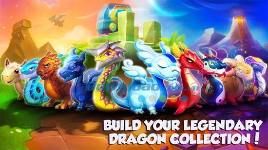 Wie man Edelsteine in Dragon Mania Legends verdient