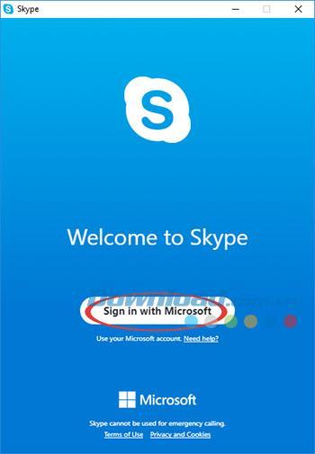 Instructions pour installer Skype sur un ordinateur