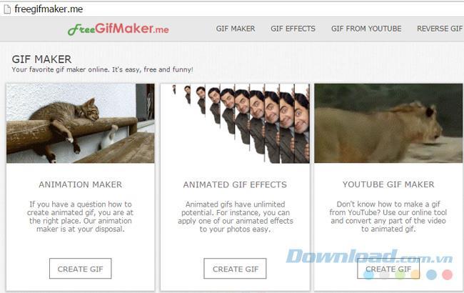 Die besten kostenlosen Websites zur Erstellung von GIFs