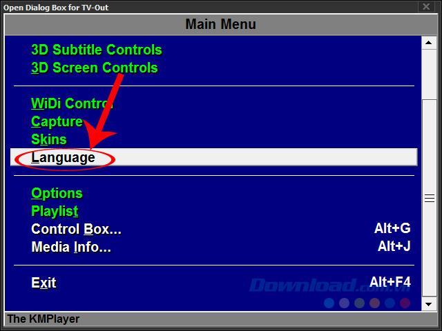 So ändern Sie die Sprache von KMPlayer