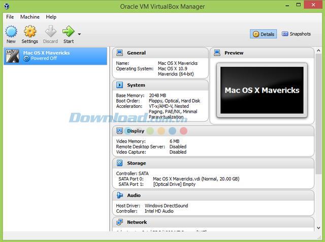 Comment installer Mac OS X sur Windows avec VirtualBox