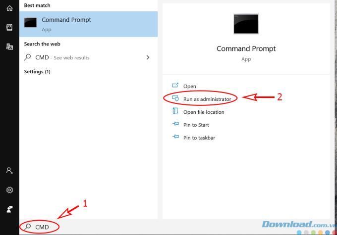 Comment ouvrir CMD en tant qu'administrateur sous Windows