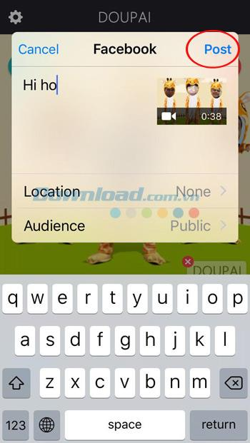 So erstellen Sie mit Doupai lustige Videos auf dem iPhone