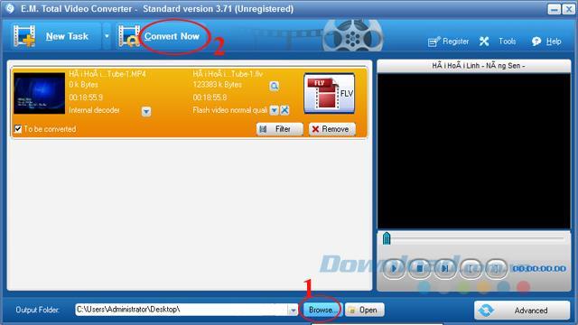 So konvertieren Sie Video in FLV mit Total Video Converter