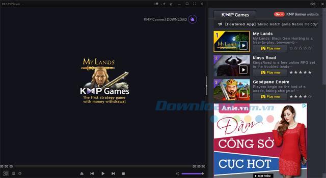Comment bloquer les publicités sur KMPlayer
