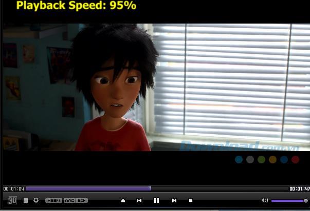 Comment changer la vitesse de lecture vidéo de KMPlayer