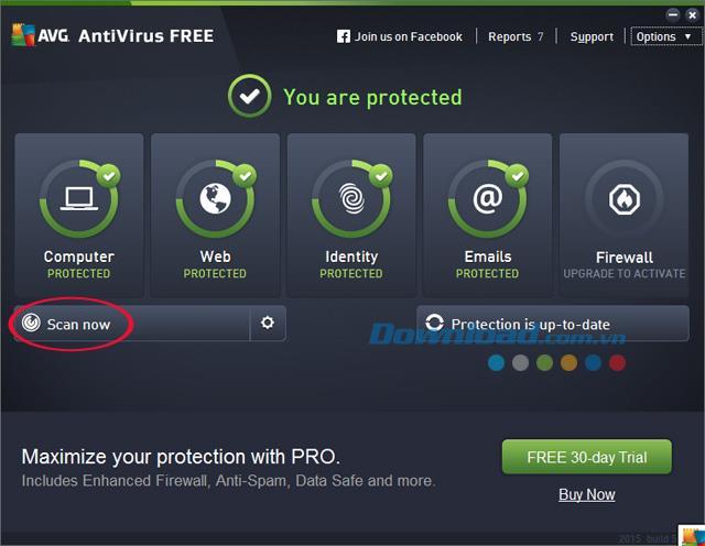 Instructions d'installation et d'utilisation d'AVG AntiVirus Free pour supprimer les virus