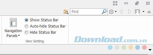 Comment masquer la barre de notification dans Foxit Reader