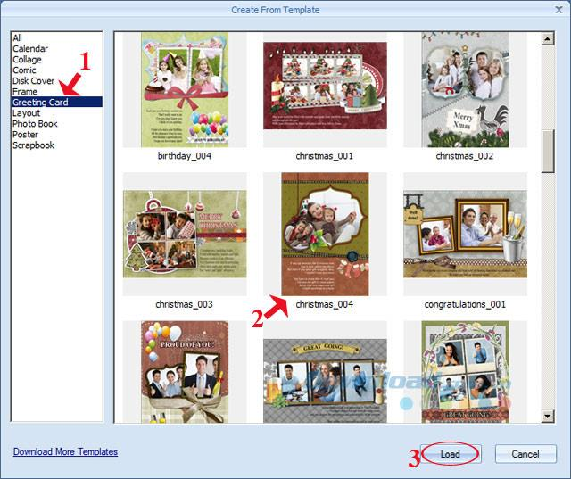 Picture CollageMakerで意味のあるクリスマスカードを作成する