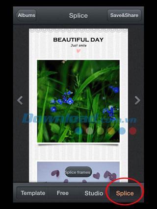 Erstellen Sie Collagen mit PhotoWonder