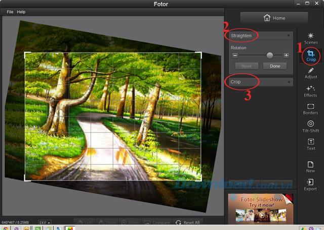 Installieren und verwenden Sie Fotor Fotobearbeitung kostenlos
