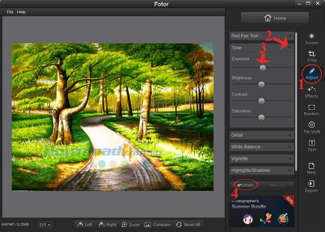 Installieren und verwenden Sie Fotor Photo Editor kostenlos
