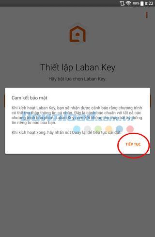 お使いの携帯電話でLaBanキーを使用するための手順