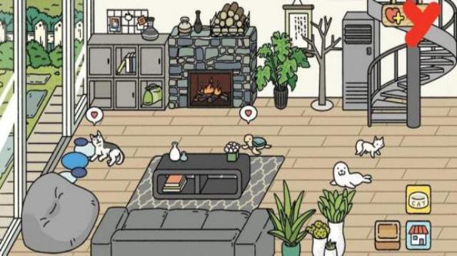 Corak hiasan rumah yang cantik di Rumah Adorable